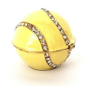 Objet D'Art Trinket Box The Open Tennis Ball
